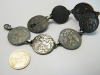Silver bracelet from Russian silver coins